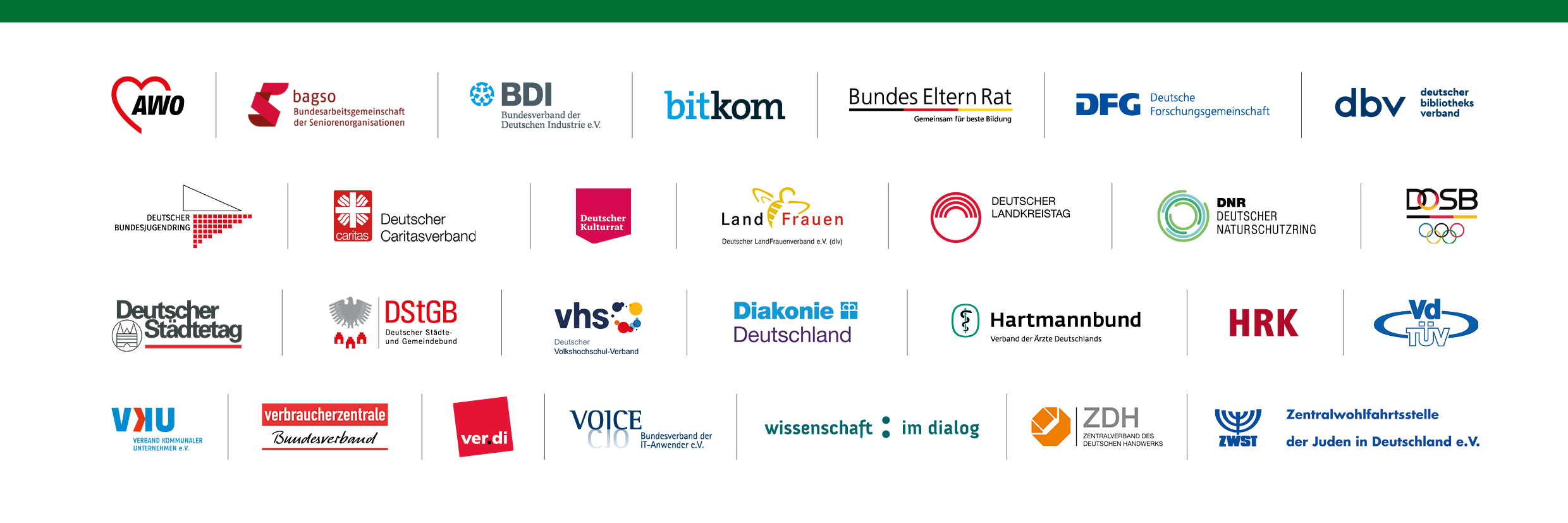 Digitaltag Partner Logoleiste