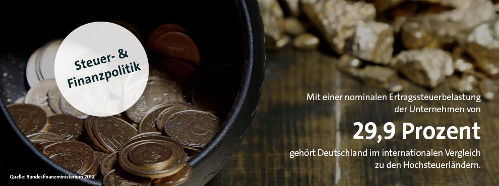 Infografik BTW21 Steuerpolitik
