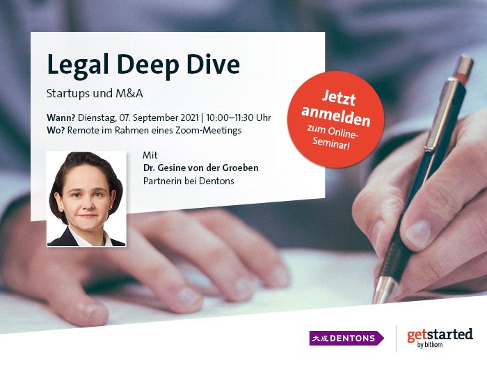 Legal Deep Dive GoLegal Startups und M&A