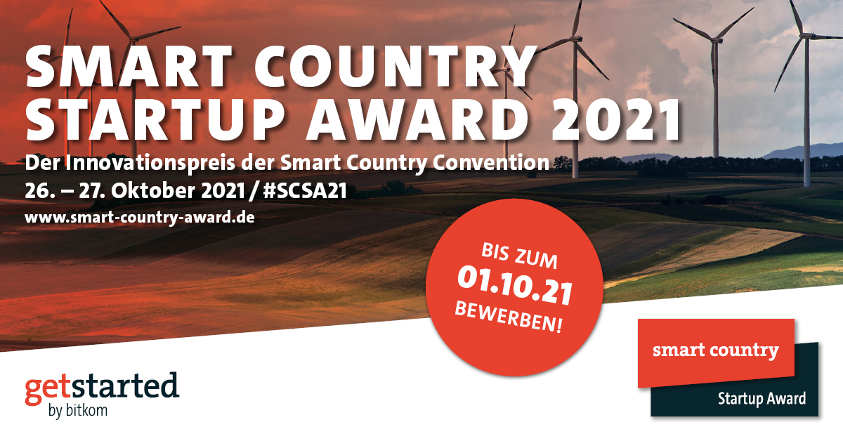 Smart Country Startup Award 2021