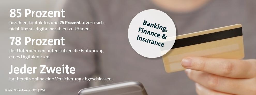 Fakten und Zahlen zu Finance