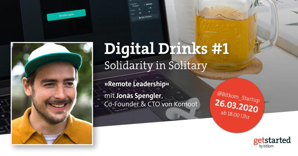 Digital Drinks mit Jonas Sprengler von Komoot
