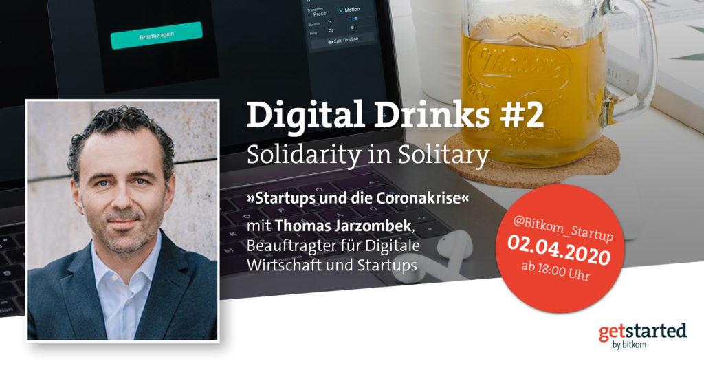 Digital Drinks #2 mit Thomas Jarzombek